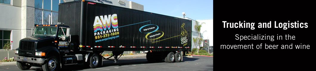 Trucking and Logistics - Specializing in the movement of beer and wine